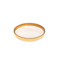 Mod Small Round Plate by Annieglass