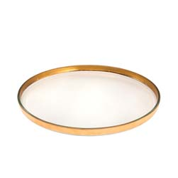 Mod Large Round Plate by Annieglass