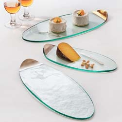Mod Cheese Board by Annieglass
