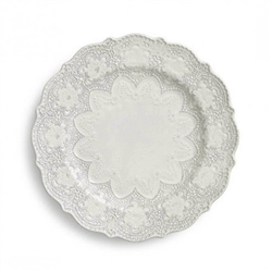 Merletto Antique Dinner Plate by Arte Italica