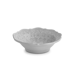 Merletto White Cereal Bowl by Arte Italica