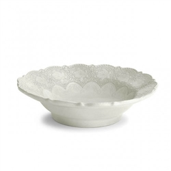Merletto Antique Serving Bowl by Arte Italica
