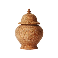 "Quinta 11"" Natural Cork Ginger Jar by Juliska"