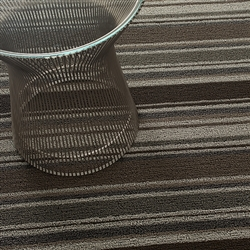 Skinny Stripe Shag Indoor/Outdoor Mats by Chilewich