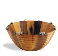 Arche of Bees Hive Salad Bowl by Vagabond House