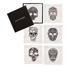 Catrina Cocktail Napkins (Set of 6) by Kim Seybert