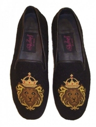 ByPaige - Lion King Needlepoint Loafers for Men