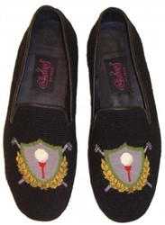 ByPaige - Golf Crest Needlepoit Loafer for Men