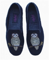 ByPaige - Night Owl Needlepoint Loafers for Men