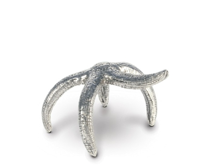 Vagabond House Pewter Star Fish Napkin Ring