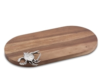 Blue Crab Bar Board by Vagabond House