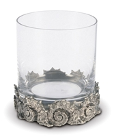 Nautilus Double Old Fashioned Glass by Vagabond House