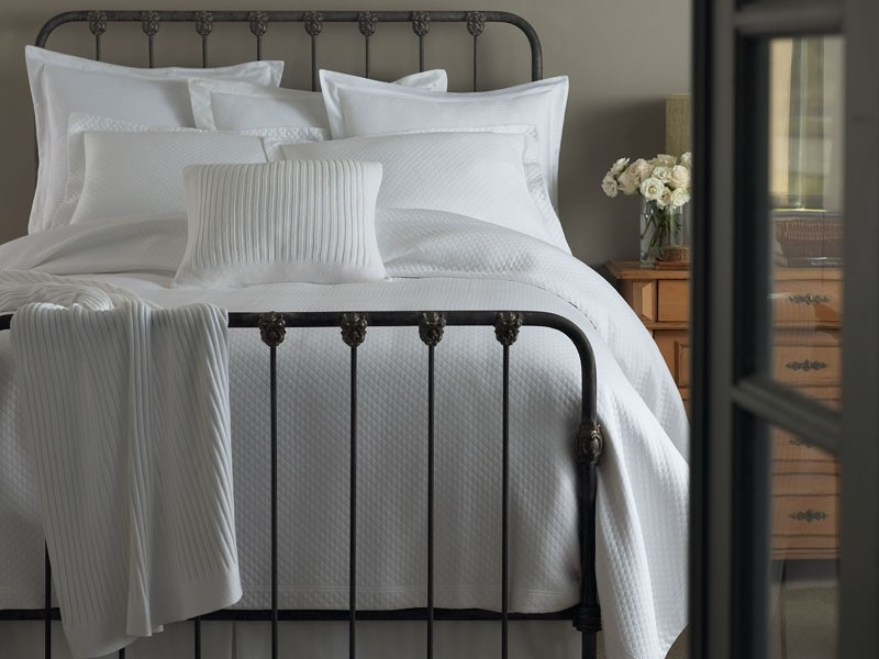 Charming Oxford Matelasse Luxury Bedding By Peacock Alley