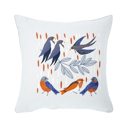 Yves Delorme - Iosis Olivia Decorative Pillow