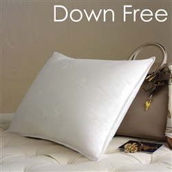 Scandia Home Deluxe Down Free Travel Pillow