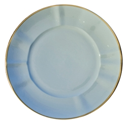 Powder Blue Dinner Plate by Anna Weatherley