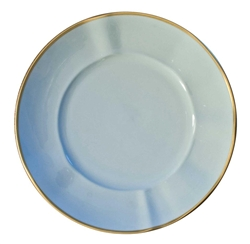 Powder Blue Bread and Butter Plate by Anna Weatherley