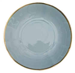 Powder Blue Soup Bowl by Anna Weatherley