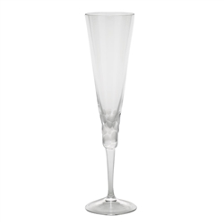 Pebbles Clear Champagne Glass by Moser