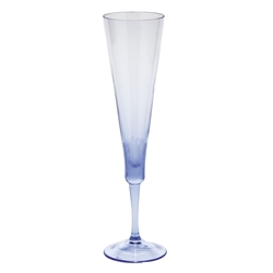 Pebbles Alexandrite Champagne Glass by Moser