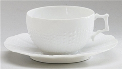 Corail Coffee Cup And Saucer by Medard de Noblat