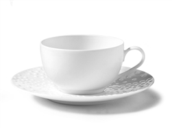 Sania Tea Cup and Saucer by Medard de Noblat