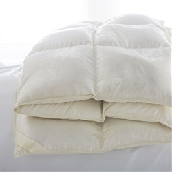 St. Petersburg Goose Down Comforter by Scandia Home