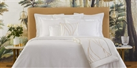 Plisse Luxury Bed Linens by Yves Delorme