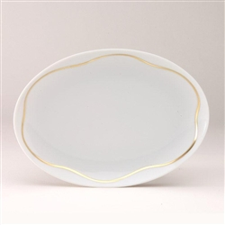 Etincelle Or Pickle Dish by Medard de Noblat