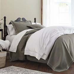 Rio Satin Stitch Twin Coverlet by Peacock Alley