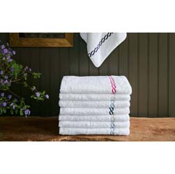 Classic Chain Luxury Towels by Matouk