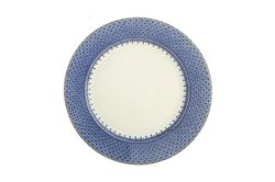 Blue Lace Dessert Plate by Mottahedeh