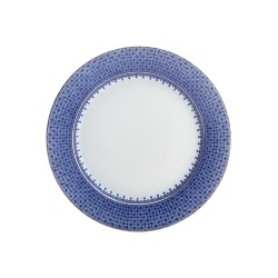 Blue Lace Bread & Butter Plate by Mottahedeh