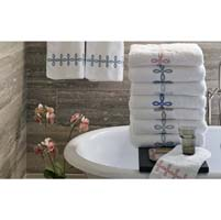 Gordian Knot Guest Towels (Set of 2) by Matouk