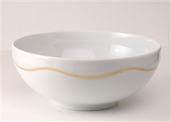 Etincelle Or Salad Bowl by Medard de Noblat