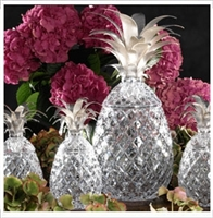 Isadora Pineapple Centerpiece by William Yeoward Crystal