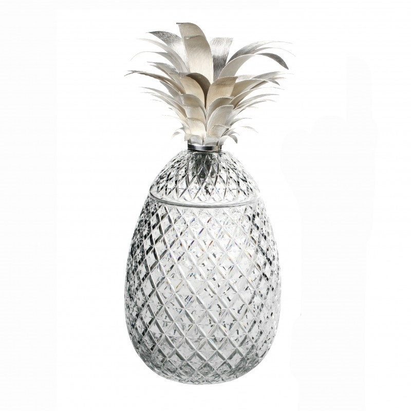 William Yeoward Crystal Isadora Pineapple Centerpiece