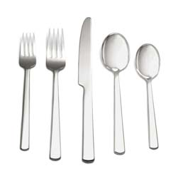 Hanover 5-Piece Flatware Setting in Gift Box by Simon Pearce