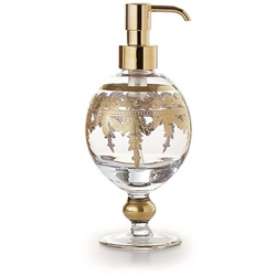 Baroque Gold Soap Pump by Arte Italica