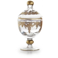 Baroque Gold Canister with Lid by Arte Italica