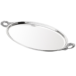 Silver Serving Tray by Grainger McKoy