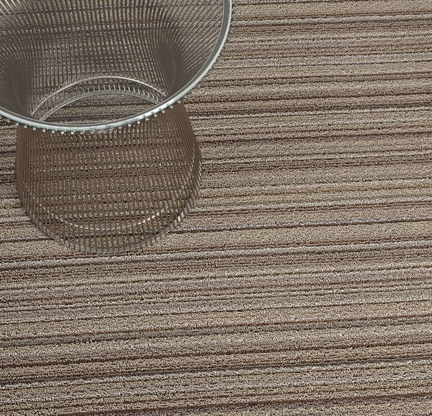 Chilewich - Skinny Stripe Shag Indoor/Outdoor Mats