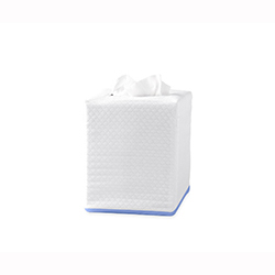 Chiaro Tissue Box Cover by Matouk