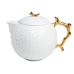 Corail Or Big Tea Pot by Medard de Noblat