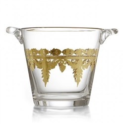 Vetro Gold Ice Bucket by Arte Italica
