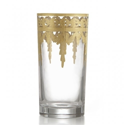 Vetro Gold Highball Glass by Arte Italica