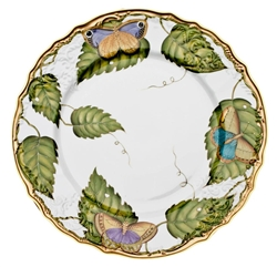 Exotic Butterflies Dinner Plate by Anna Weatherley