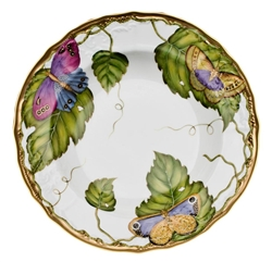 Exotic Butterflies Rim Soup Plate by Anna Weatherley