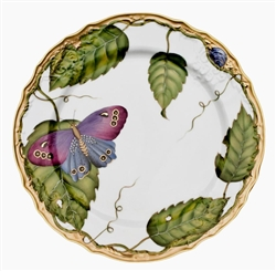 Exotic Butterflies Salad Plate by Anna Weatherley