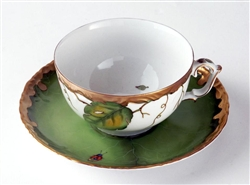 Ivy Garland Cup & Saucer by Anna Weatherley